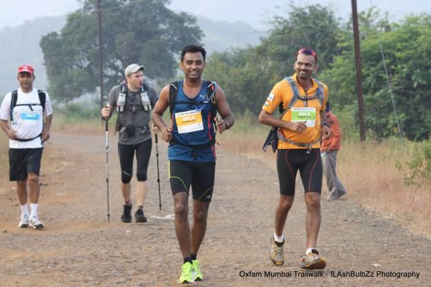 The Winning Team 2013 - Oxfam Trailwalker Mumbai