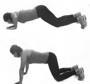 Knee Pushups - Ya whatever!